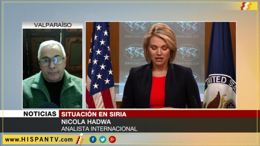 'Ataque químico, excusa de EEUU para apoyar a terroristas en Siria'