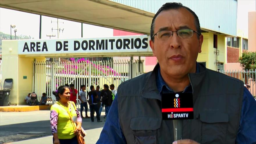 Inmigrantes hacen escala en la Ciudad de México