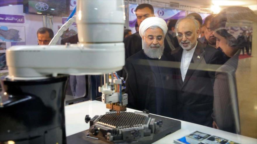 Irán inaugura sus nuevos 83 logros en el sector nuclear