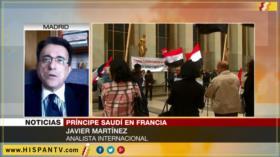 'Comunidad internacional debe movilizarse contra Arabia Saudí'