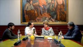 Unidos Podemos condena 'atentado a la democracia' en Brasil