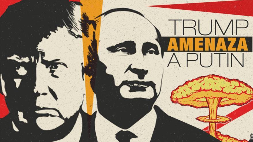 Detrás de la Razón; Trump amenaza a Putin por matar niños en Siria, pagará caro Rusia e Irán