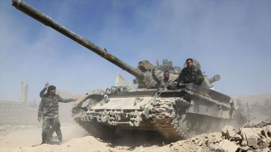 Rusia: El Ejército sirio tomó el control de Duma