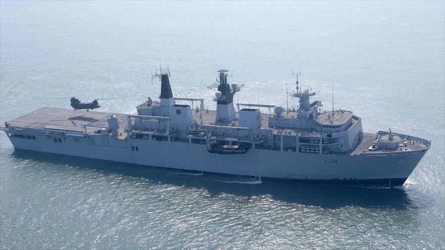 Reino Unido despliega un tercer buque a vigilar a Corea del Norte