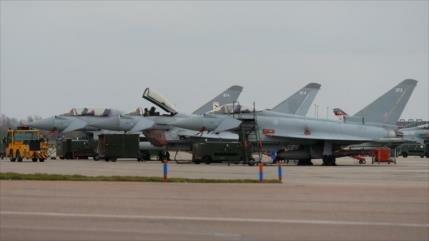Cazas británicos, preparados para atacar Siria desde Chipre