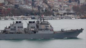 Buques rusos abandonan base siria de Tartus 'ante ataque de EEUU'