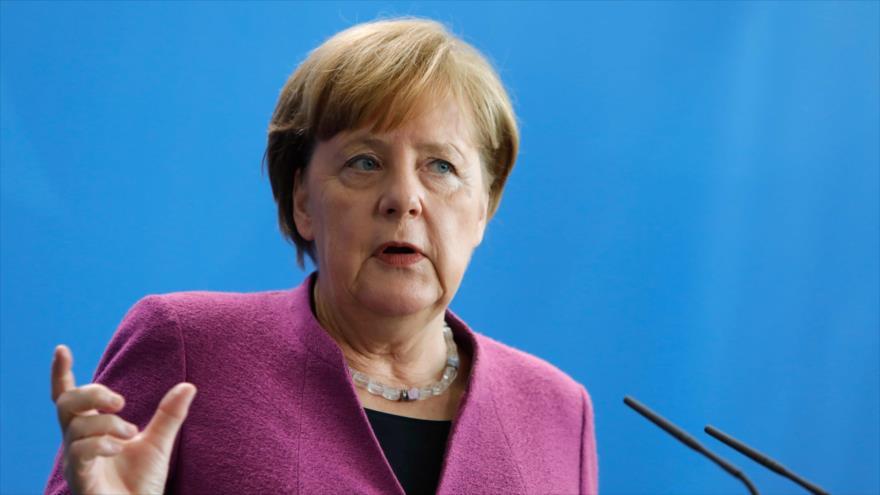 Merkel descarta participación de Alemania en realizar posible ataque militar en Siria