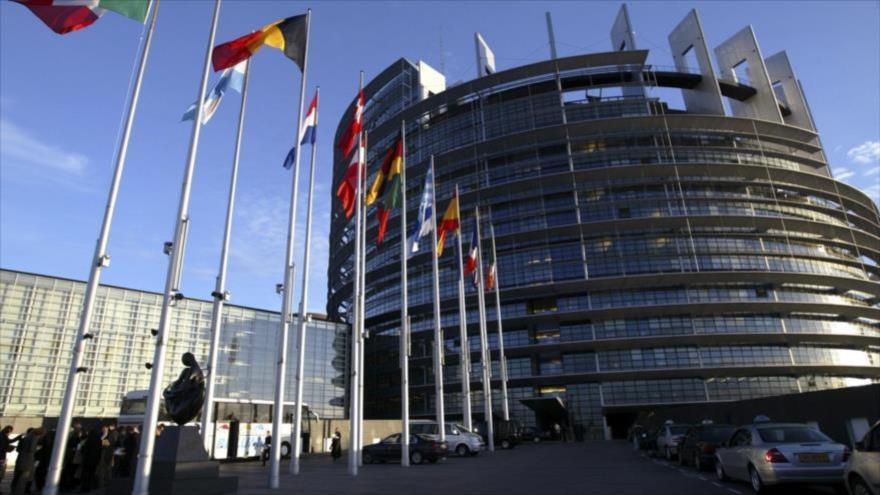Sede de la Unión Europea (UE) en Bruselas, la capital de Bélgica.