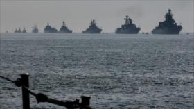 Armada rusa está preparada ante inminente ataque de EEUU a Siria