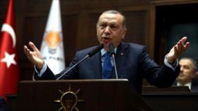 Erdogan: Siria no debe ser ring de lucha armada entre EEUU y Rusia