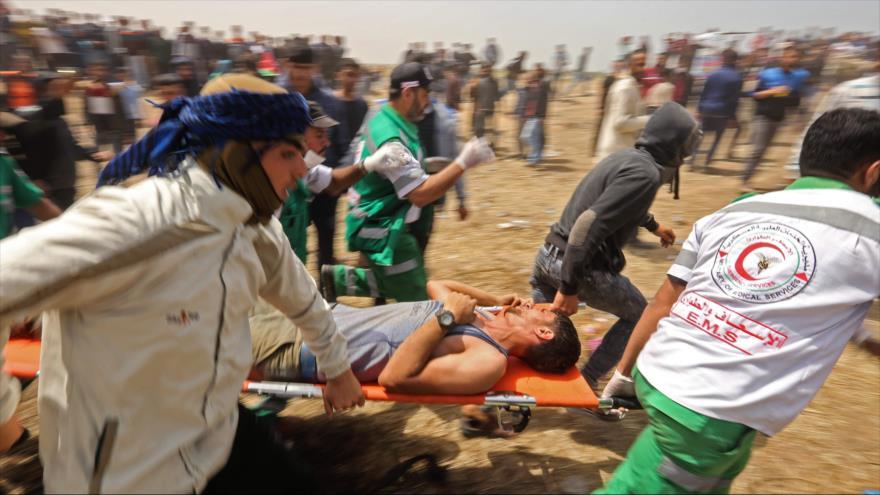 Fuerzas israelíes dejan 1 muerto y 700 heridos en Franja de Gaza