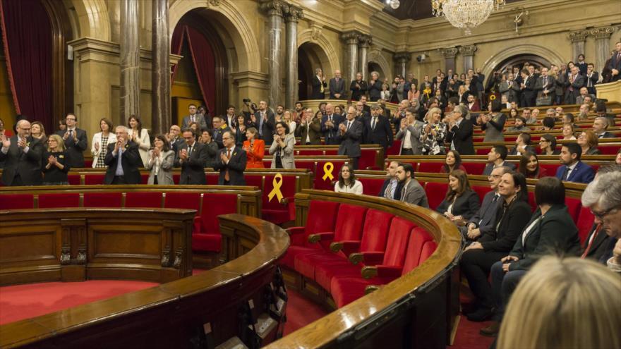 Juez prohíbe por segunda vez a candidato soberanista investidura en Cataluña