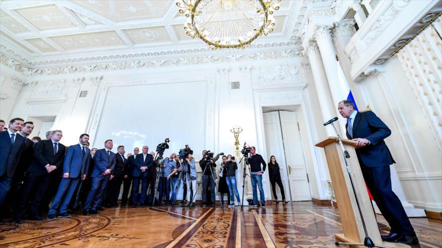 Lavrov: Laboratorio suizo detectó en Skripal un tóxico 'occidental'