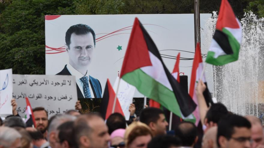 Haaretz: Ataque de EEUU a Siria fue una victoria para Bashar al-Asad