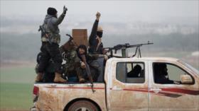 Fuerte 'guerra interna' entre terroristas por el control de Idlib