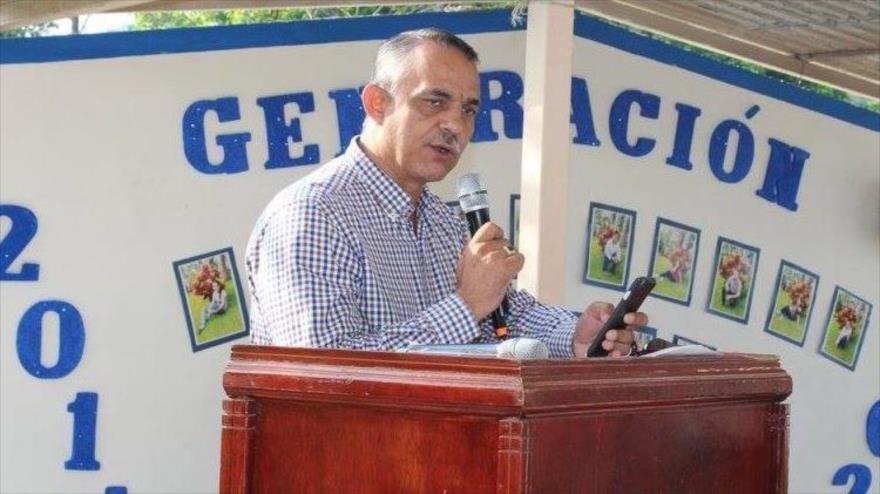 El alcalde del municipio mexicano de Jilotán de los Dolores, Juan Carlos Andrade Magaña.