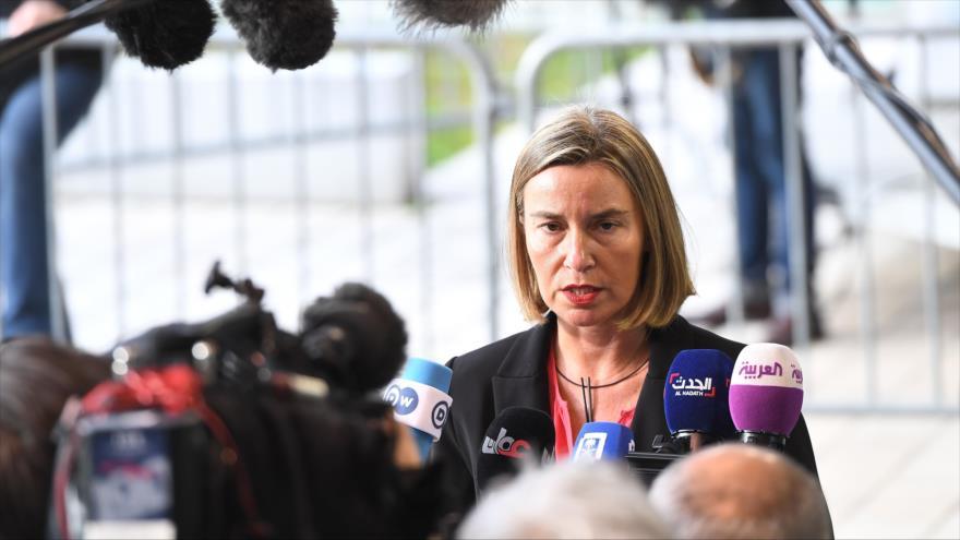 UE descarta nuevas sanciones antiiraníes para tranquilizar a Trump