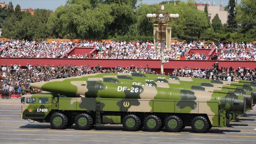 Vídeo: China incorpora nuevo misil balístico capaz de atacar EEUU   HISPANTV