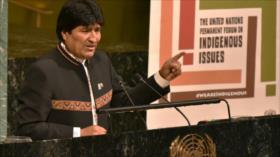 Evo Morales critica en ONU agresión de EEUU contra Siria