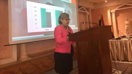Presidenta del CNE ratifica legitimidad de elecciones en Venezuela