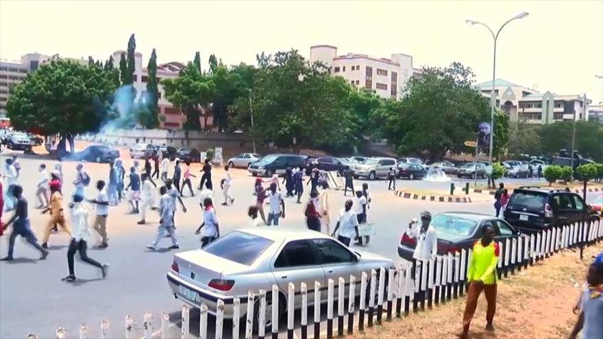 Policía de Nigeria reprime otra vez a musulmanes chiíes en Abuya