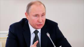 Putin tacha de 'agresión' ataque de EEUU y sus aliados a Siria