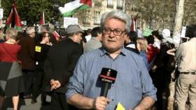 Manifestaciones en Francia en solidaridad con presos palestinos