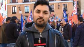 Policías de Madrid piden una mejora de sus condiciones laborales