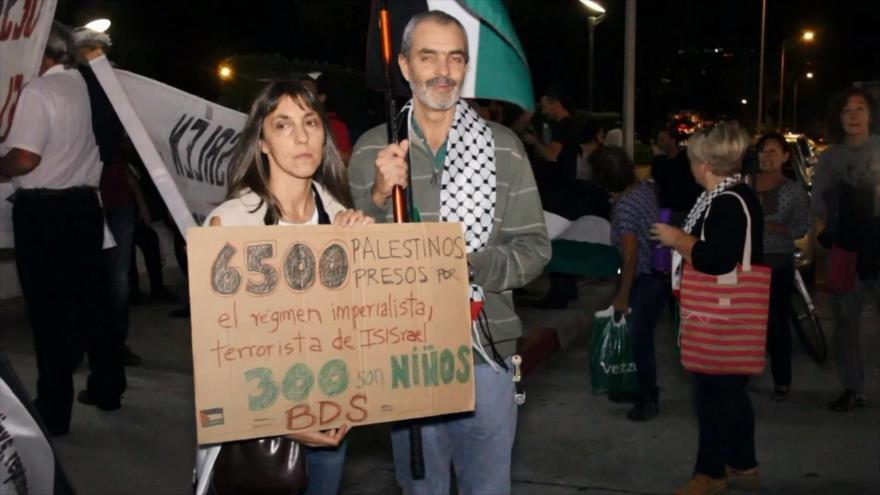 Uruguay se solidariza con el pueblo palestino