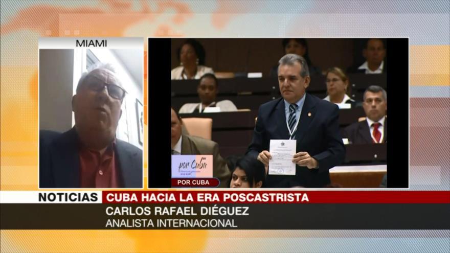 Expresidente hondureño saluda a nuevo mandatario cubano Díaz-Canel