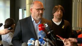 Independentistas catalanes insisten en mantener a sus candidatos
