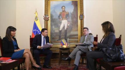 Venezuela envía nota de protesta a EEUU por sus injerencias