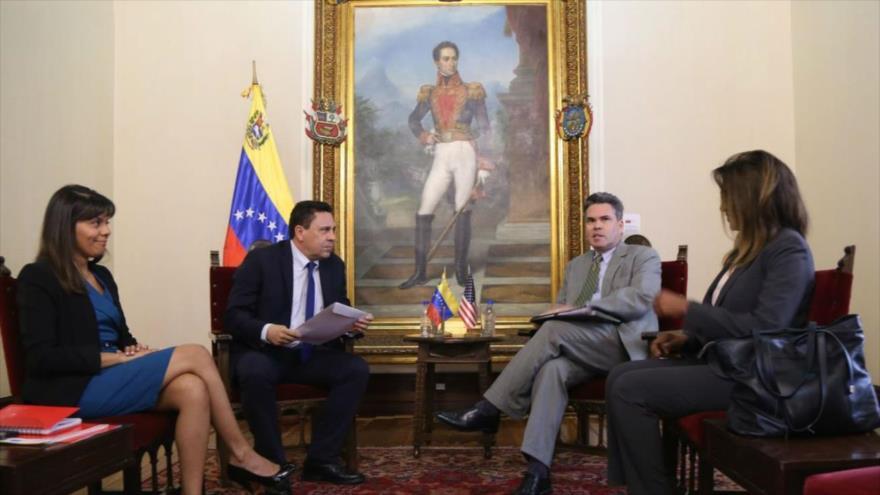 Venezuela protesta nuevamente injerencia de EEUU en sus asuntos internos
