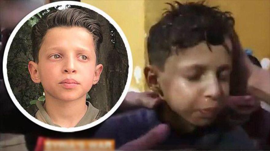 Niño sirio revela la verdad sobre vídeo del 'ataque químico'