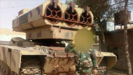 Siria envía artillería coheteril para atacar EIIL cerca de Damasco