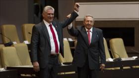 Miguel Díaz-Canel, elegido oficialmente presidente de Cuba