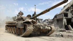 Ejército sirio lanza operación contra Daesh en el sur de Damasco
