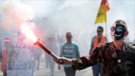 Nuevo presidente de Cuba. Crisis siria. Choques en Francia