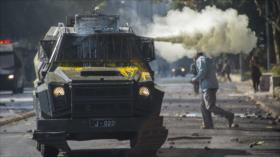 Vídeo: Reprimen mega protesta estudiantil contra Gobierno de Chile