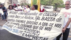 Panameños marchan por proyectos de desarrollo provincial