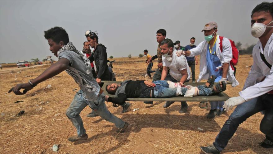 Israel mata a 4 palestinos y hiere a decenas en 4ª Marcha en Gaza