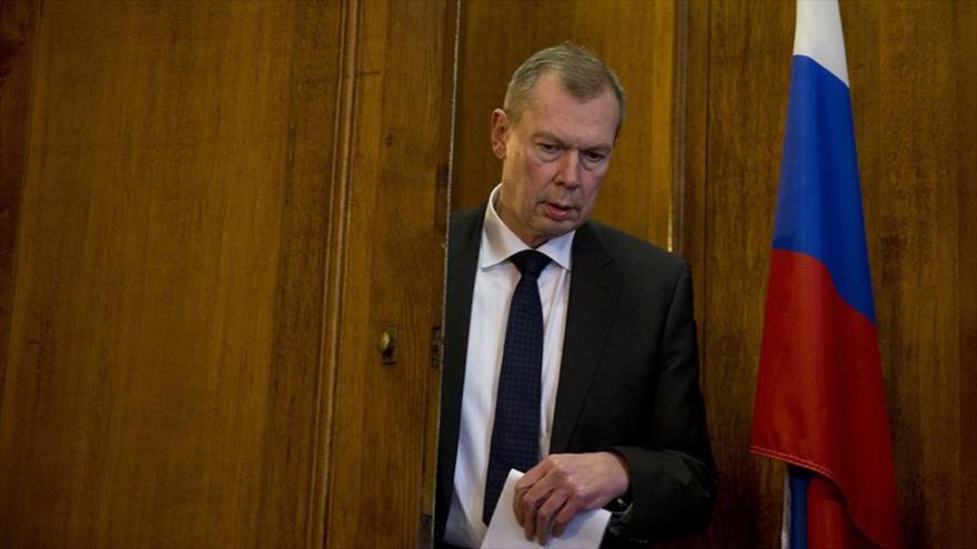 El embajador ruso ante la Organización para la Prohibición de las Armas Químicas (OPAQ), Alexandr Shulguin.