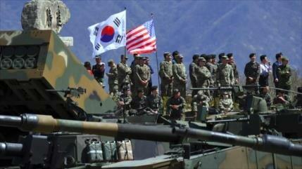 Rusia urge a Washington y a Seúl a reducir sus actividades militares