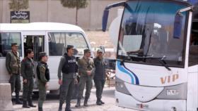'Rebeldes' sirios comienzan a evacuar Al-Qalamun Oriental