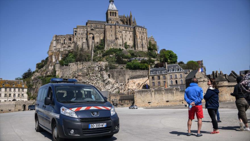 Evacúan el Monte Saint-Michel debido a