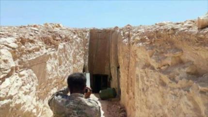 Ejército halla 'casas subterráneas de líderes terroristas' en Guta