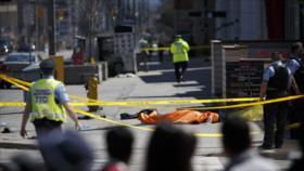 Vehículo atropella a varios peatones en Toronto: hay 9 muertos