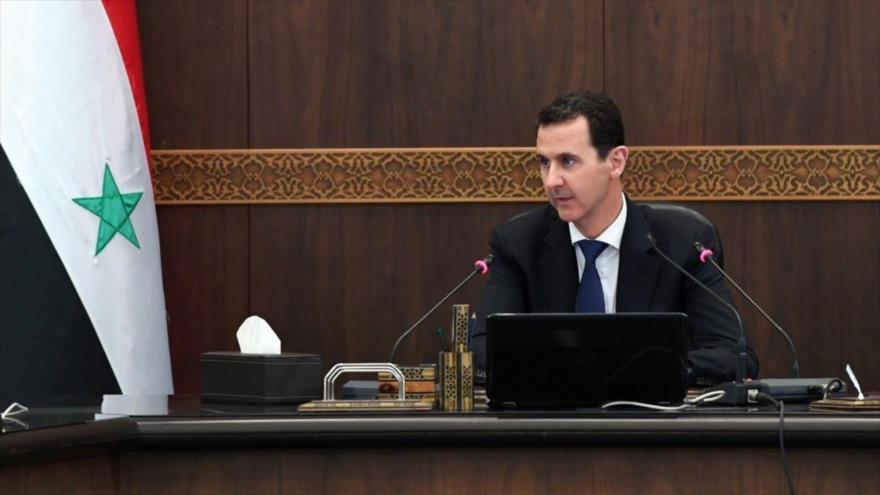 El presidente de Siria, Bashar al-Asad.