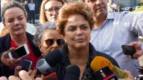 Impiden a expresidenta Dilma Rousseff visitar a Lula