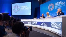 Jefes de finanzas mundiales, preocupados por guerra comercial